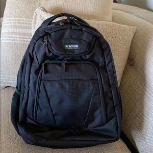 Kenneth Cole Reaction Black Backpack 🎒unisex